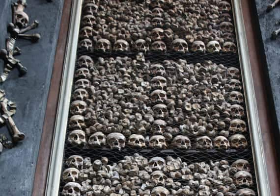 San Bernardino alle Ossa – The Bones Church!