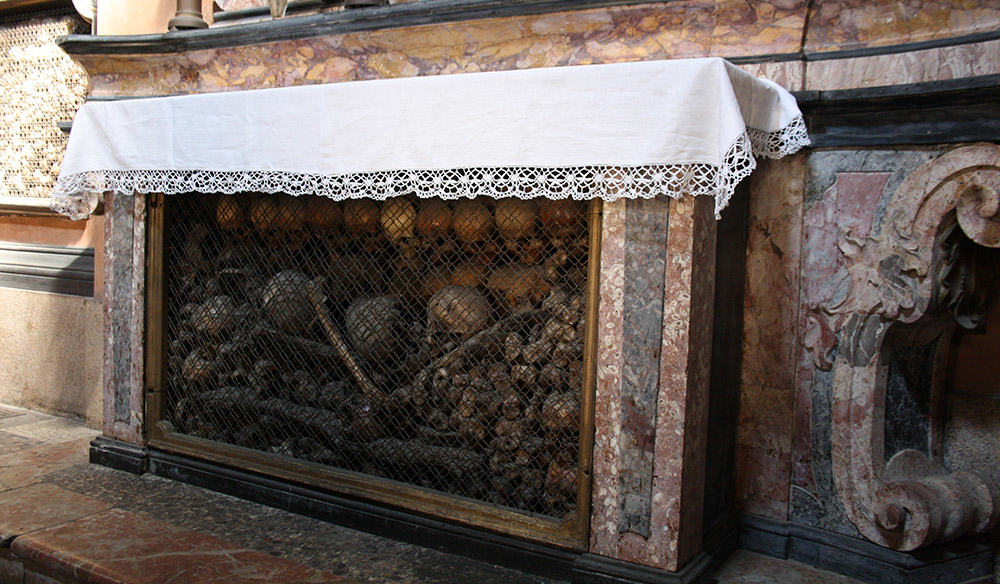 San Bernardino alle Ossa - The Bone Church