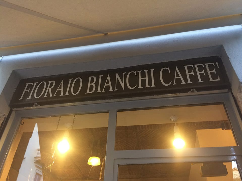 Fioraio Bianchi