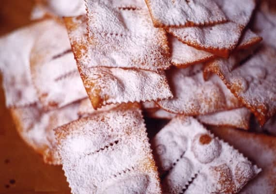 Italian Carnevale and Chiacchiere pastries