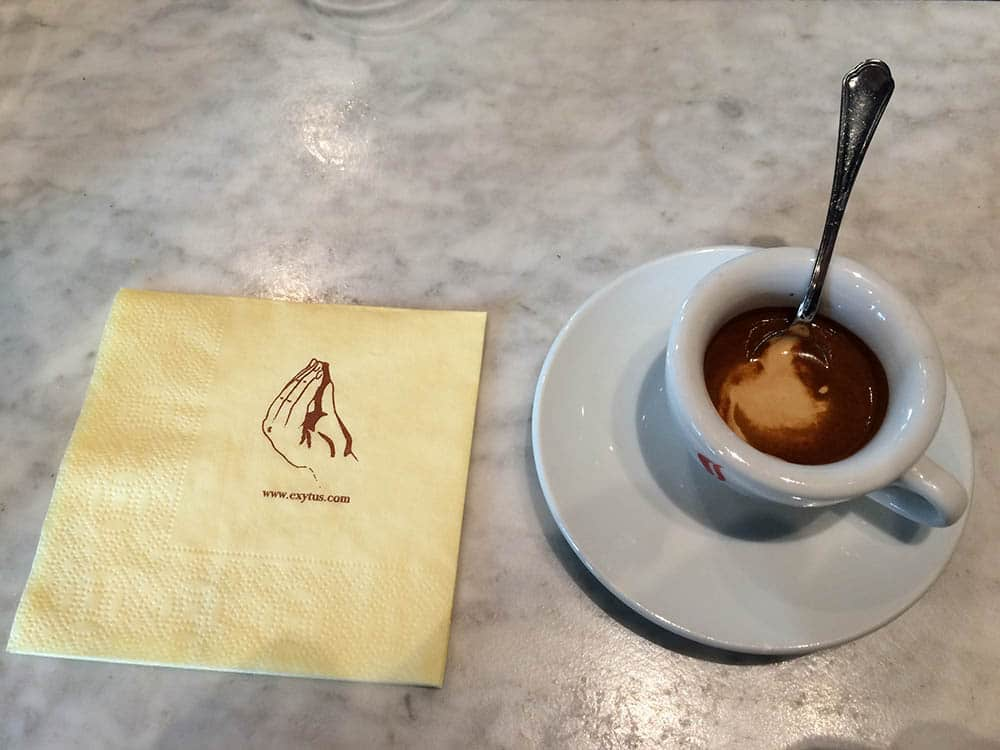 Neapolitan coffee