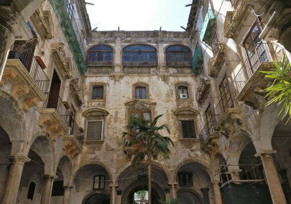 Palermo: Palazzo Filangeri di Cutò in via Maqueda