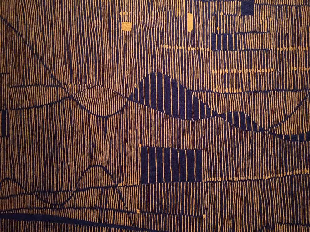 Tapestry exhibition in Milan - Weaving