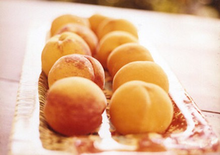 Stuffed Peaches from my book Eating Heart