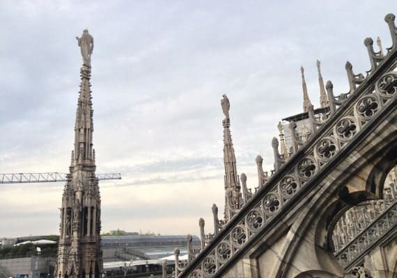 The Cathedral of sugar: The Milan Duomo