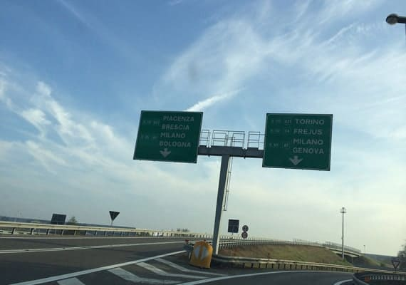 The First and the Last: Driving on the Italian Highway