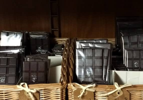 The genovese chocolate pusher in the dark lane