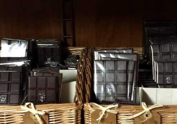 The genovese chocolate pusher in the dark lane
