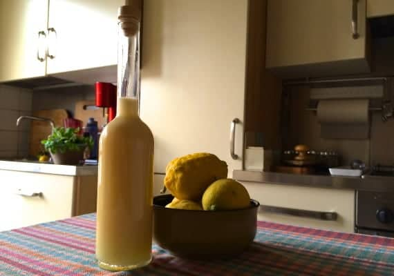 Lemoncrema: A variation on Limoncello