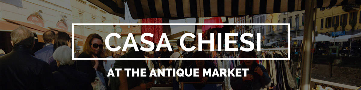 Antique Market with Casa Chiesi