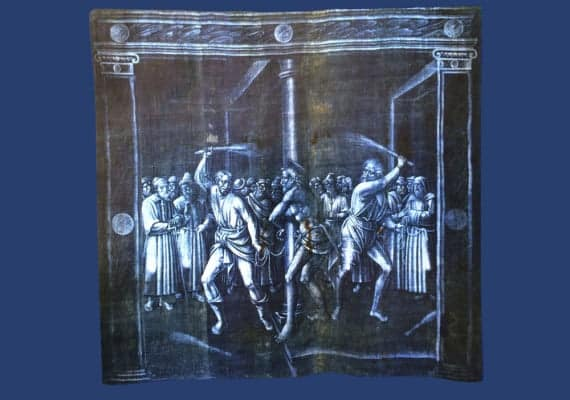 Passion in blue : The Jeans Ancestors in Genoa
