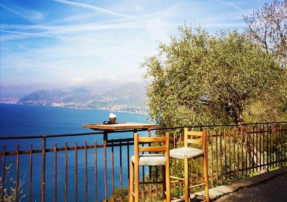 Bar Dai Muagetti : Paradise in Liguria
