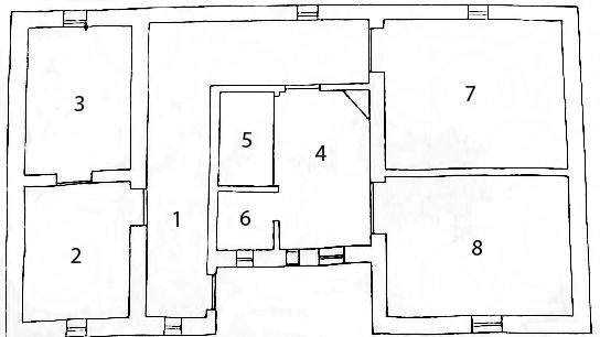 Camaldoli Hermitage Floor Plan