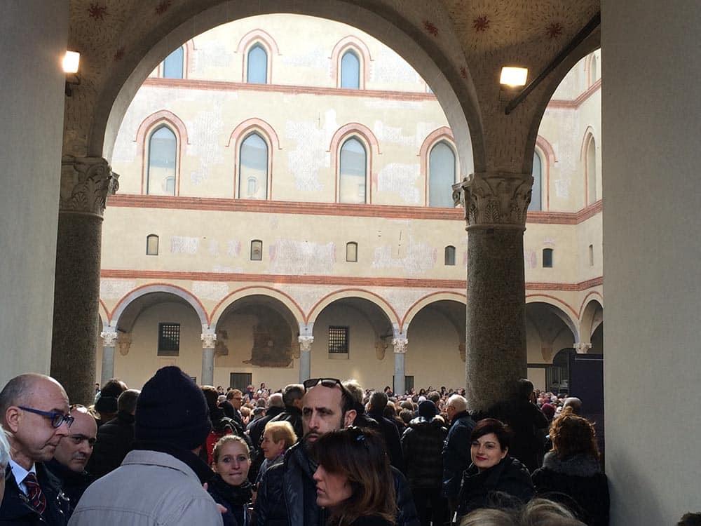 Umberto Eco Milan Funeral