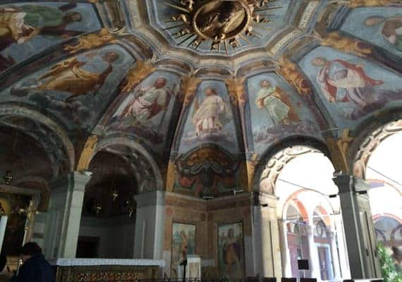 Santa Maria alla Fontane : The Holy Water in the heart of Milan