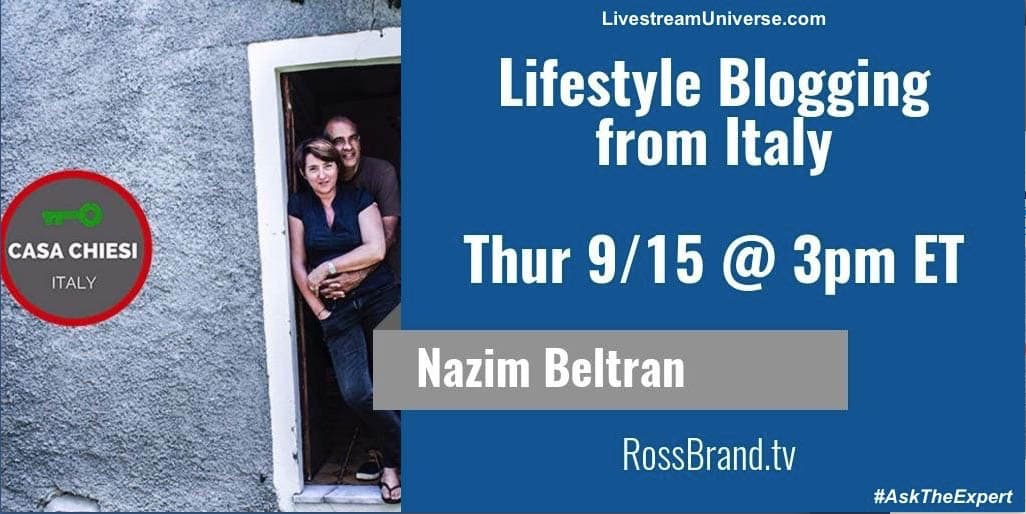 Livestream Universe with Ross Brand