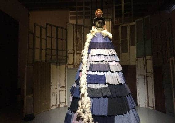 Antonio Marras Show: I Spent the day in an unconscious carousel