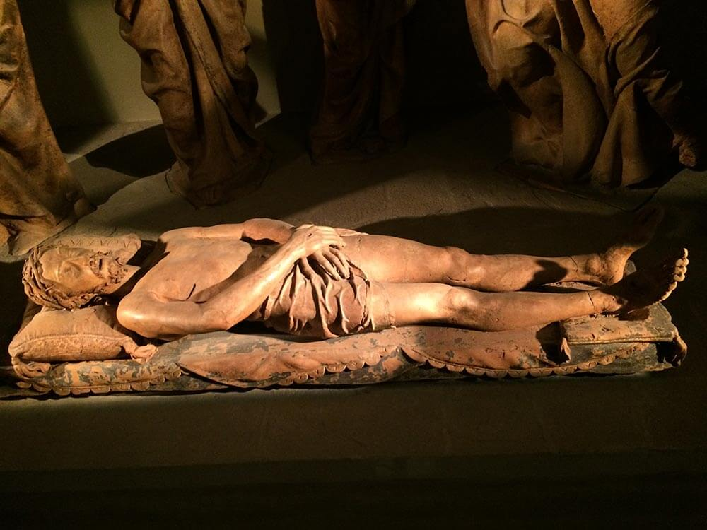 Lamentation of the Dead Christ of Nicholas Ark in Bologna