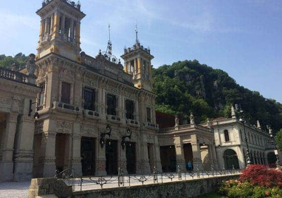 A tale of salvation and perdition: the two faces of San Pellegrinos spa.