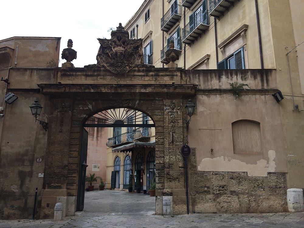 Palazzo Mirto in Palermo