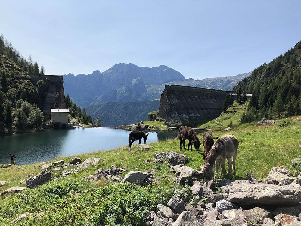 Gleno Dam in Italy