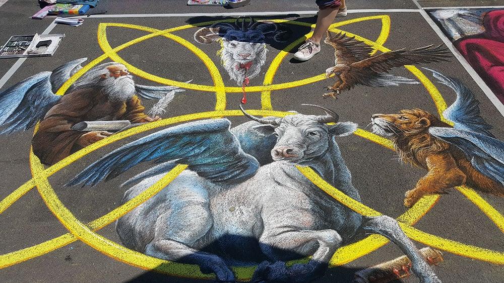 Italian Street Artist - Mandonnari photo@Sara Giulia Tommasi