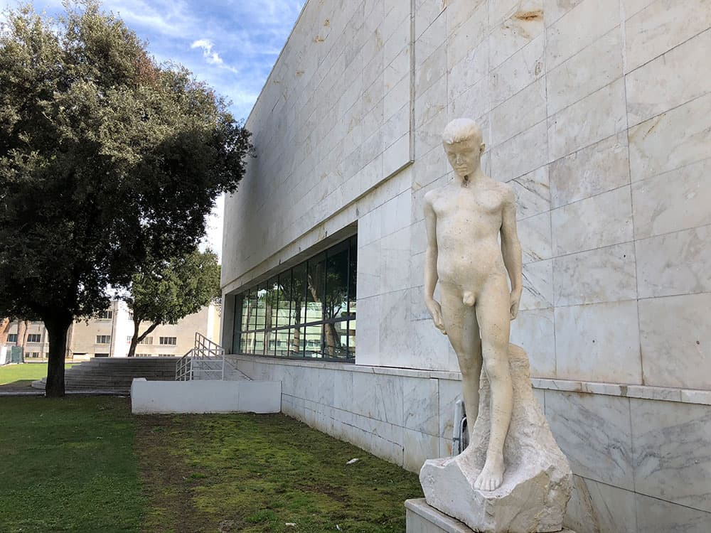 Sala delle Armi, Foro Italico - Rome