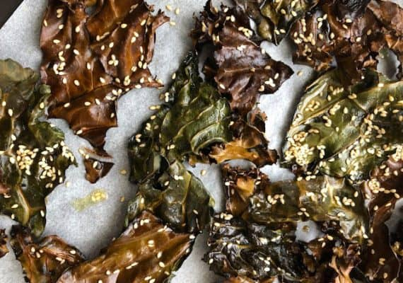 Kale Chips : An Italian Recipe for a Super Food