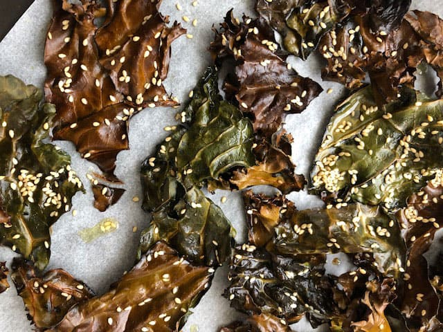 Kale Chips : An Italian Recipe for a Super Food 5