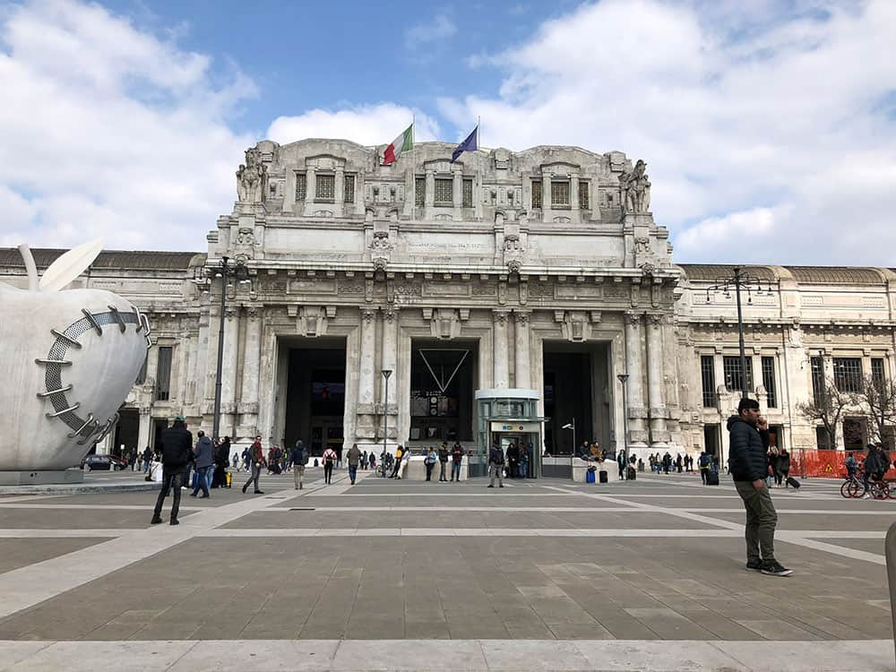 Sala Reale in Milan's Central Station