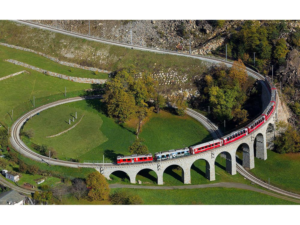 The Bernina Train Trip