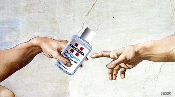 Amuchina Meme