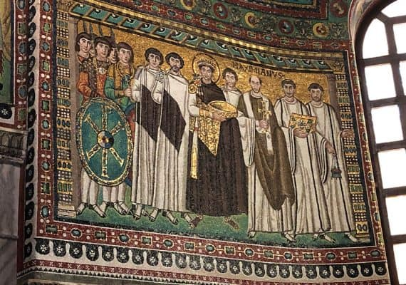 Ravenna : the splendor of the Byzantium in the heart of Italy