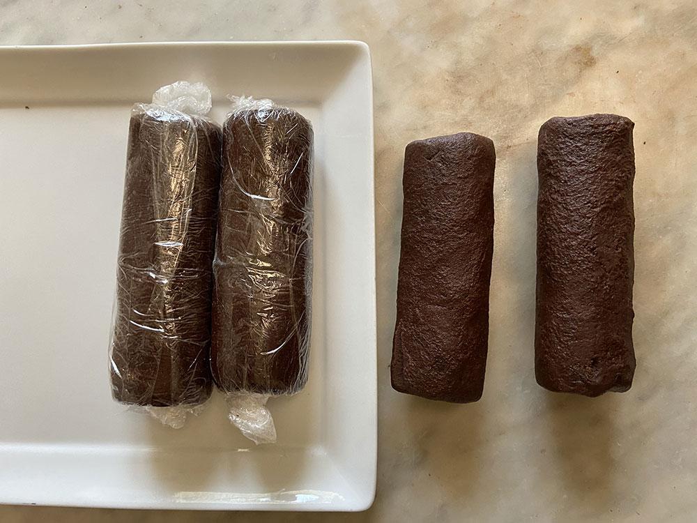 Dark Chocolate Salted Cookies